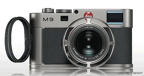 Leica M9 special edition (titanium)